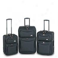 Traveler's Choice Set Of Three Expandable Uprights