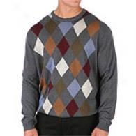 Tricots St. Raphael Centered Argyle Sweater