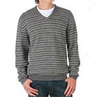 Tricots St. Raphael Dashing Stitch V-neck Sweater
