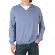 Tricots St. Raphael Donegal Silk V-neck Sweater
