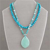 Turquoise & Amazonite Layered Necklace