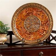 Tuscan Decorative Plate & Stand