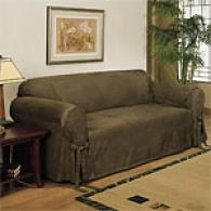 Ultimate Suede Slipcover