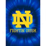 University Of Notre Dame 60in X 80in Throw