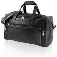 U.s. Traveler Koskin Leather Carry-on Duffel Bag