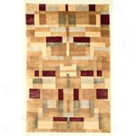Valencia Jewe Tone Quad Hand-knotted Wool Rug
