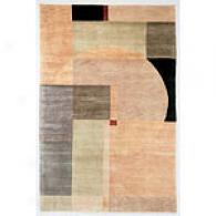 Valencia Sphere Hand-knotted New Zealand Wool Rug