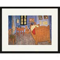 Van Gogh Bedroom At Arles 17in X 23in Framde Print
