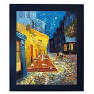 Van Gogh Cafe Terrace At Night Oil Painting