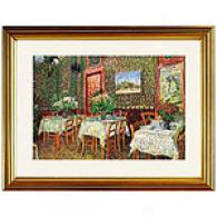 Van Gogh Interior Of A Restaurant Framed Print