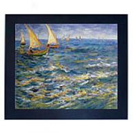 Van Gogh Seascape At Saintes-maries-de-la-mer