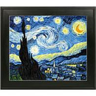 Van Gogh Starry Niight Framed Oil Painting