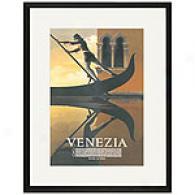 Venezi Framed Print By Adolphe Cassandre