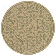 Verona Serious Round Indoor/outdoor Rug
