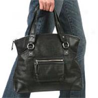 Viq Spiga Belle Medium Leather Tote