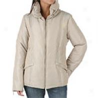 Via Spiga Short Pillow Collar Down Jacket
