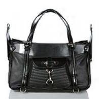 Via Spiga Talia Leather Tote With Pocket