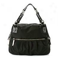 Via Spiga Teresa Black Satchel