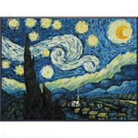 Vincent Van Gogh Sttarry Night Framed Oil Painting