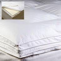 Visco-tech Down Foam & Feather Bed Topper