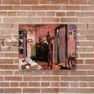 Wassily Kandinskys Interior Canvas Print
