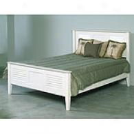 Watch Hill White Queen Bed Frame