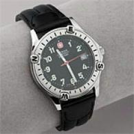 Wenger Mens Swiss Military Traveler Watch