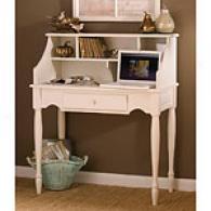 White Wold Secretary Desk