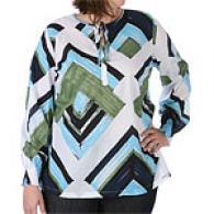 Womens Calvin Klein Jeans Geometric Print Tunic
