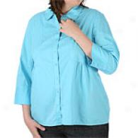 Womens Calvin Kleni Jeans Button Fron Tunic