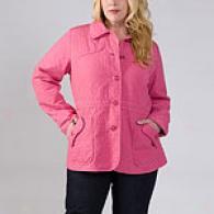 Womena Marina Rinaldi Fushia Quilted Jacket