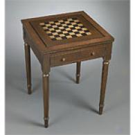 Wooden Game Table With Front Drawer
