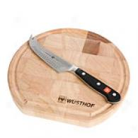 Wusthof 2pc Cheese Connoisseurs Knife & Board Set
