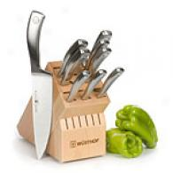 Wusthof Culinar 10pc Cutlery Block Set