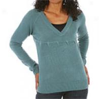 Xcvi Empire Waisf V Neck Sweater