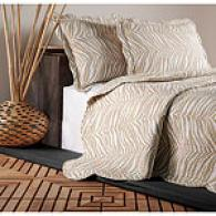 Zebra 100% Cotton Quilt Set