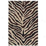 Zebra Hand-tufted Wool Rug