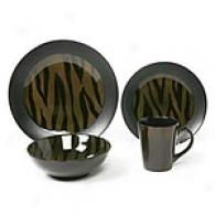 Zebra Open Stock Dinnerware - Sets Of 6