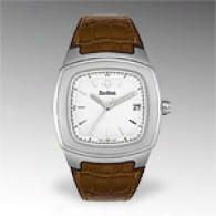 Zodiqc Men's Brown Leather Watch