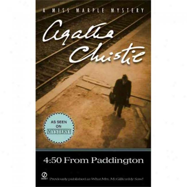 4:50 From Paddington By Agatha Christie, Isbn 045100519