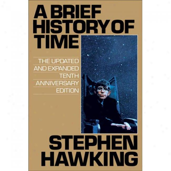 A Brief History Of Time By Stephen Hawking, Isbn 0553109537