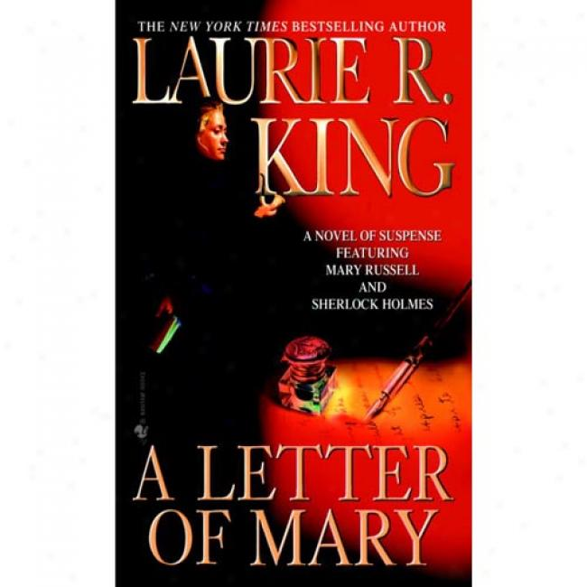 AL etter Of Mary By Laurie R. King, Isbn 0553577808