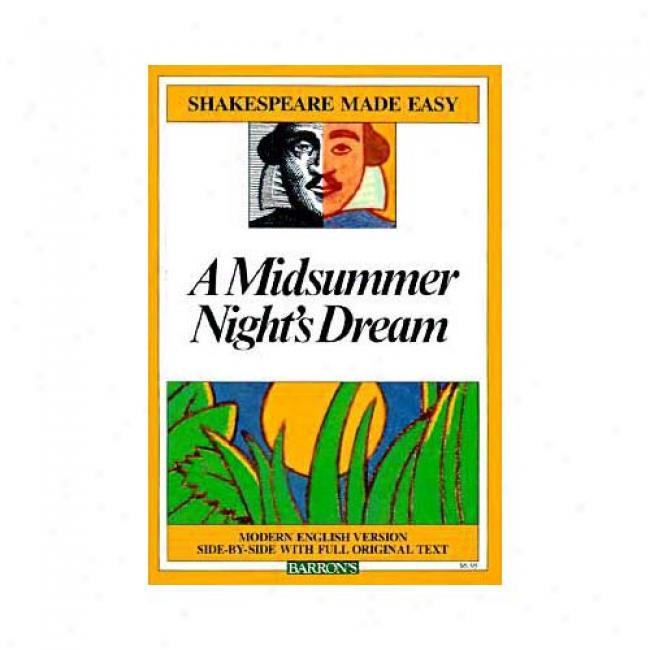 A Midsummer Night's Dream By William Shakespeare, Isnb 0812035844