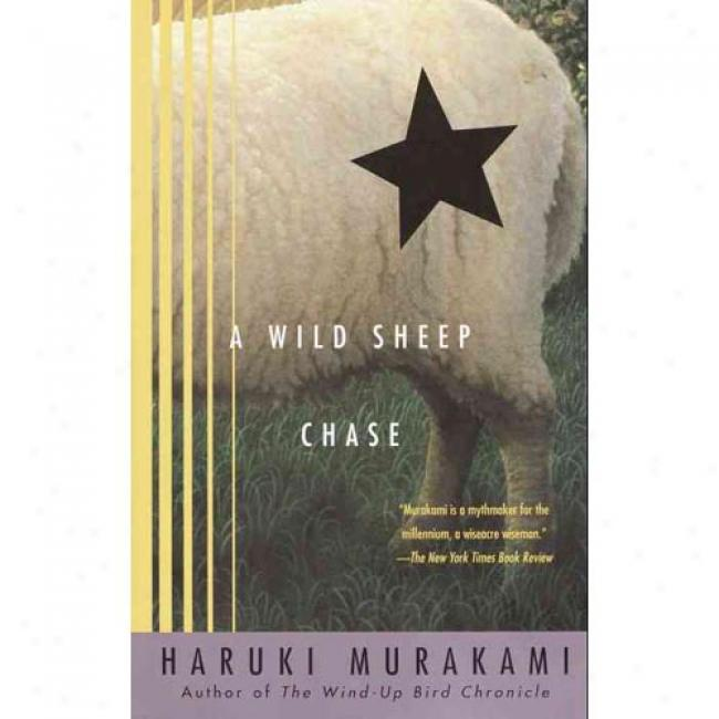 A Wild Sheep Chase By Haruki Murakami, Isbn 037571894x