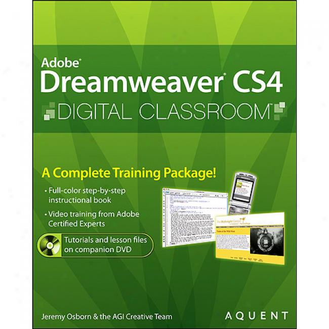 Adove Dreamweaver Cs4 Digital Classroom [with Cdrom ]