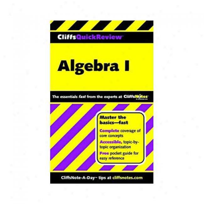 Algebra I By Jerry Bobrow, Isbn 076456370x