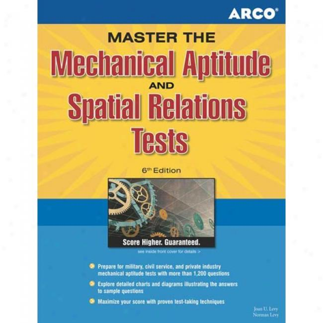 Arco Mechanical Aptitude & Spatial Relations Tests