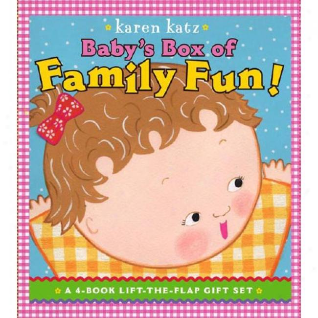 Baby's Box Of Family Fun: A 4-book Lift-the-flap Gift Set: Where Is Baby's Mommy?; Daddy And Me; Grandpa And Me, Grandma And Me