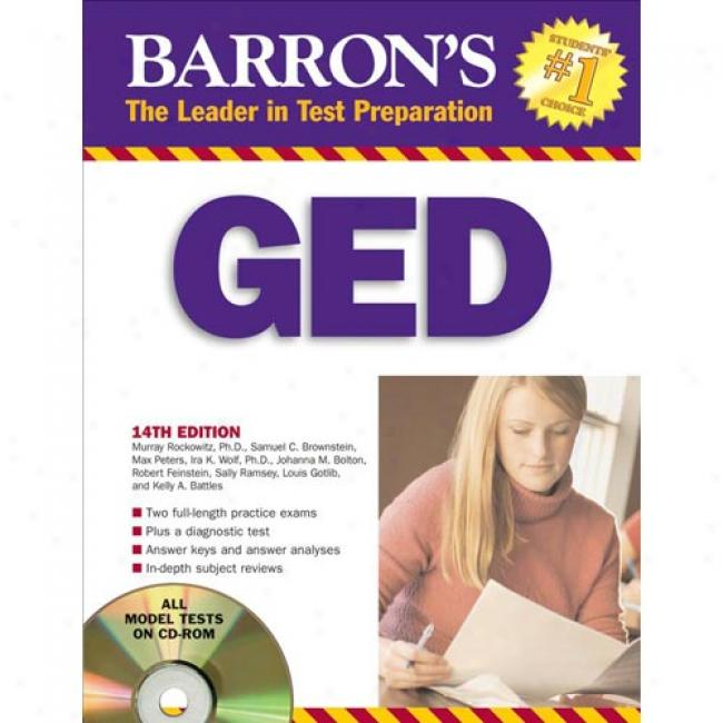 Barron's Ged: High School Equivalency Exam [wit hCdrom]