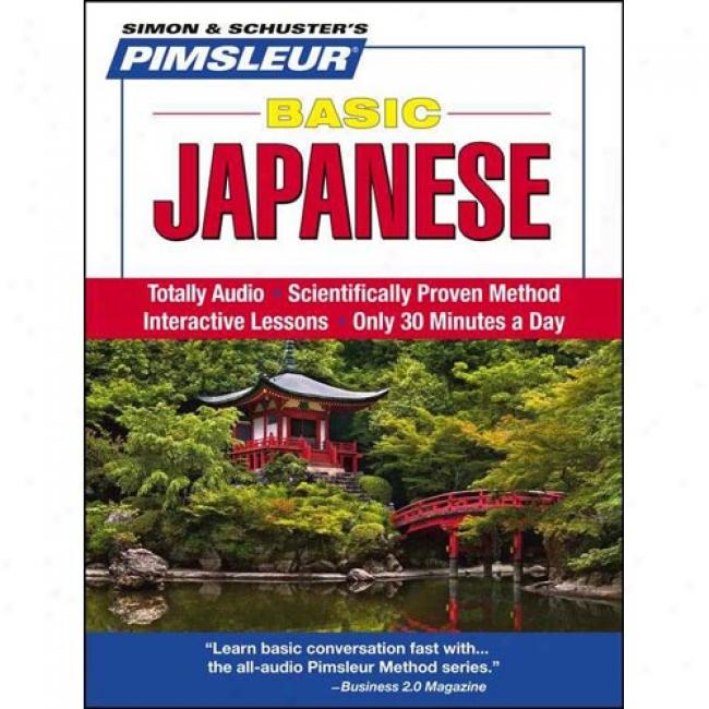Basic Japanese: Learn To Speak And Understand Japanese With Pimsleur Language Programs
